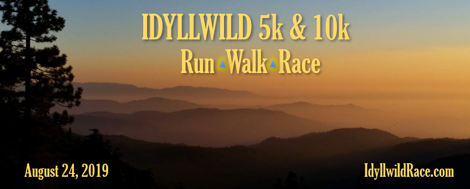 Idyllwild Race and Fitness Walk 5k and 10k 2019